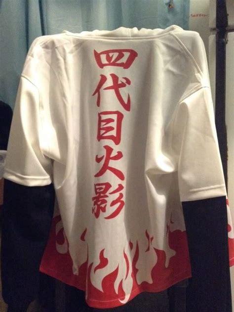 Hoodie Keren Anime Minanto N 24 4th Hokage S Hoodie Minatos Cloak Shippuden