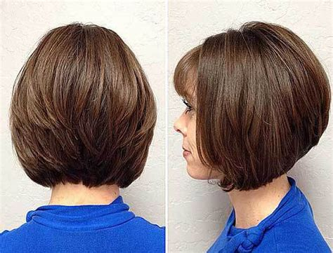 layered angled bob cut middle age 22 hottest inverted bobs to get you inspired trendy