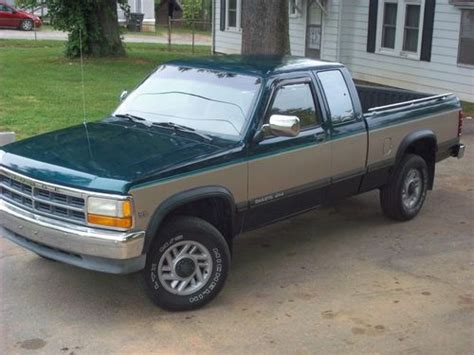 automotive air conditioning repair 1993 dodge dakota club transmission control find used 1993 dodge dakota le extended cab pickup 2 door 5 2l in winston salem north carolina