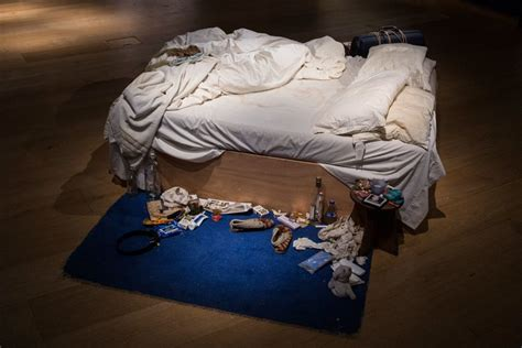 tracey emin bed two beds and the burdens of feminism the new yorker