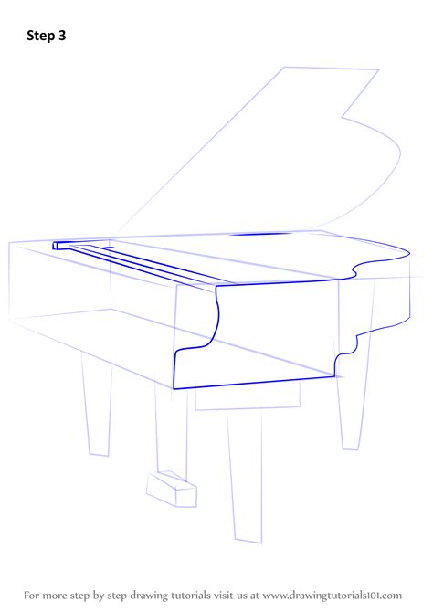 how to drqw learn how to draw a grand piano musical instruments step