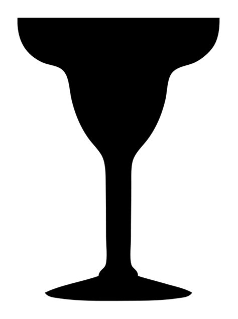 margarita glass svg file margarita glass silhouette svg wikimedia commons
