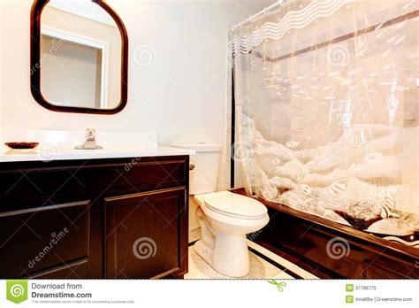 see through bathroom floor dark brown bathroom royalty free stock photo image 37786775