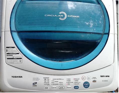 Mesin Cuci Pintu Depan mesin cuci toshiba power on langsung protek nasacomcenter 085727182241