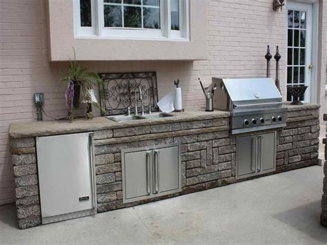 outdoor kitchen with sink kitchen outdoor kitchen sink outdoor summer kitchens