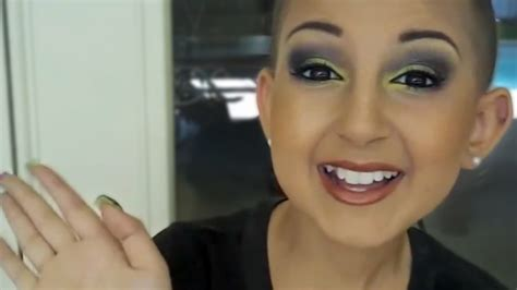 makeup tutorial talia talia joy castellanos cancer battle on youtube changed the