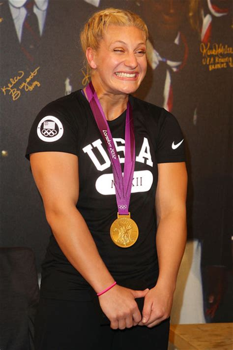 olympic eve lawrence us olympic athlete medalists visit usa house pictures
