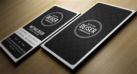 card template black and white 31 best collection of personal business card templates