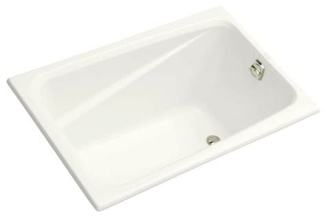 kohler 48 inch bathtub kohler k 1490 x 0 greek 48 quot x 32 quot drop in bath tub
