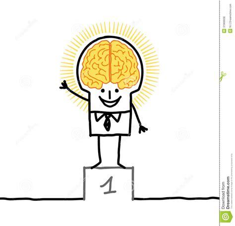 Big Brain Man Excellence Stock Vector Illustration Of Big Brain Pricing