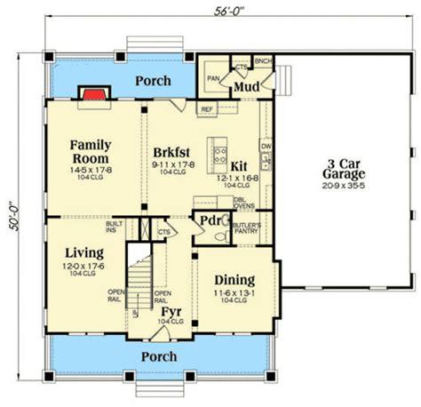 side load garage house plans craftsman with 3 car side load garage 75538gb