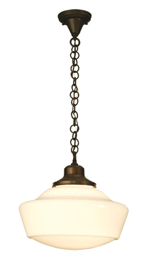 Schoolhouse Lighting Pendants Meyda 30223 Schoolhouse W Globe Pendant