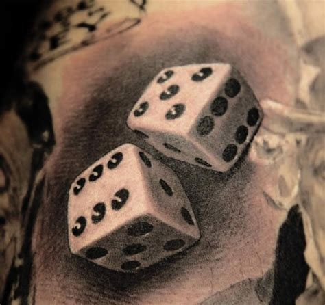 dice tattoo design best 25 dice ideas on traditional