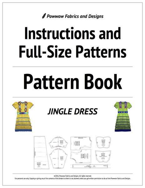 pattern for jingle dress girls jingle dress outfit pattern book powwow fabrics