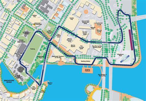 map of new jersey grand prix singapore formula 1 track map my