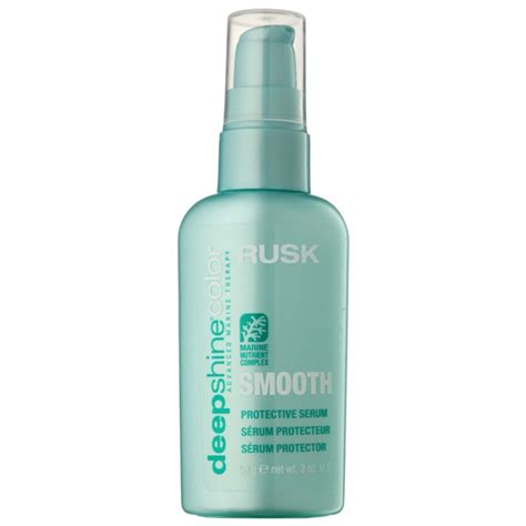 rusk shine color rusk shine color smooth nourishing serum for all