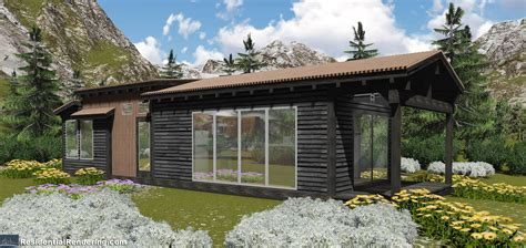 sledhaus small pre fab cabins  western