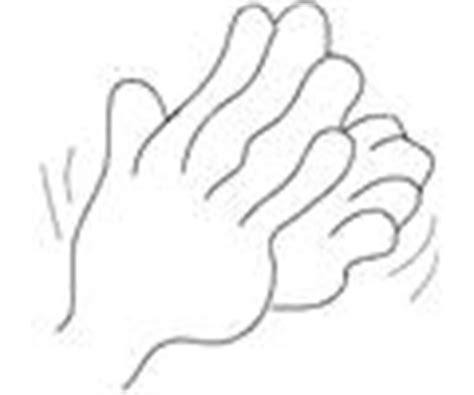 coloring pages of clapping hands how to draw clapping children