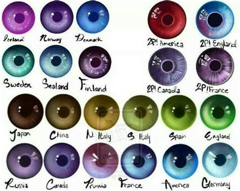rarity of eye color best 25 eye colors ideas on