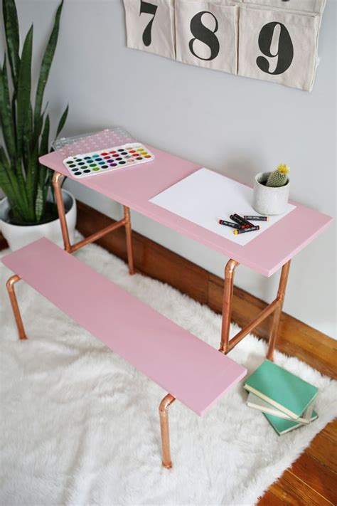 pipe desk diy 25 stylish diy desks
