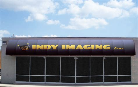 Vinyl Awnings by Non Illuminated Vinyl Awnings Indy Imaging Inc