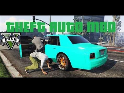 gta 5 pc missões de roubar carros tunados mod youtube