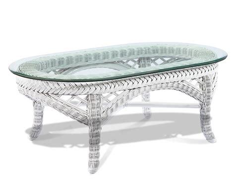 white wicker sofa table white wicker coffee table lanai wicker paradise