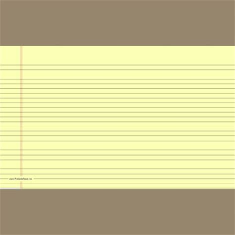 printable yellow lined paper new printable paper