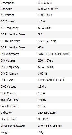 Harga Ups Merk Ica 602b daftar spesifikasi dan harga ups ica murah terbaru 2014