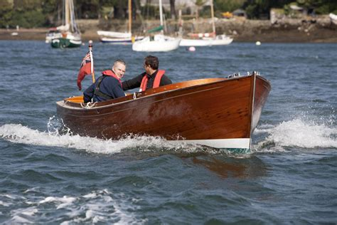 kingfisher boats falmouth cornwall repair of 1920s gentleman s open launch falmouth boat co