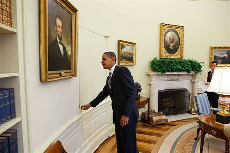 what does the oval office look like today file president barack obama opens the door of the oval