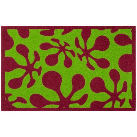 designer door mats designer door mat dirt catching mat lars contzen le pop
