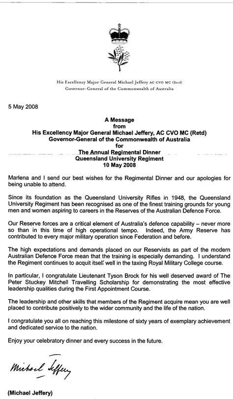 Exle Invitation Letter To His Excellency May 2008