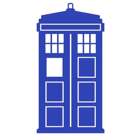 doctor who wall stickers doctor who tardis 2 quot x 4 quot decals deftperception housewares on artfire