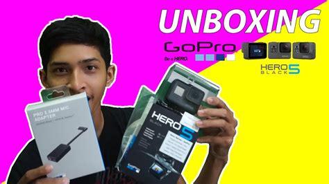 Gopro 5 Black Indonesia unboxing gopro 5 black mic adapter indonesia