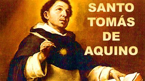 Biografia Santo Tomas De Aquino | santo tom 193 s de aquino youtube