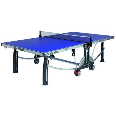 Outdoor Table Tennis Table by Cornilleau Sport 500m Rollaway 7mm Outdoor Table Tennis Table