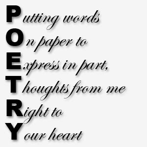 poetry – thoughts & tales