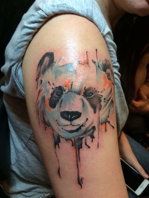 panda tattoo arm panda tattoo images designs