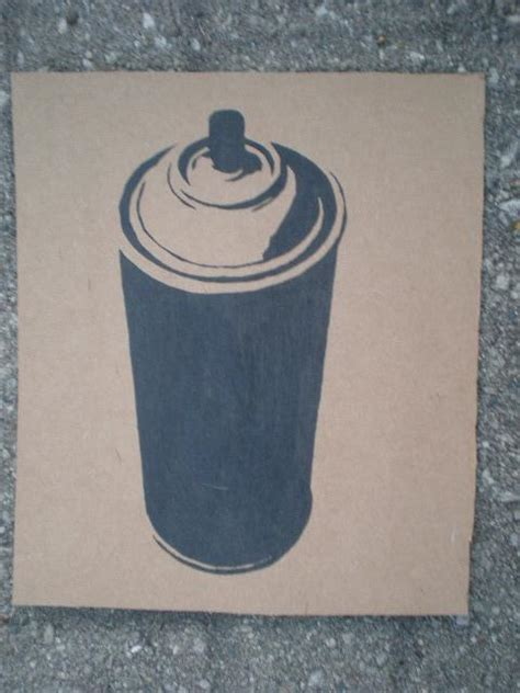 spray painting using stencils spray paint can stencil by solkone on deviantart