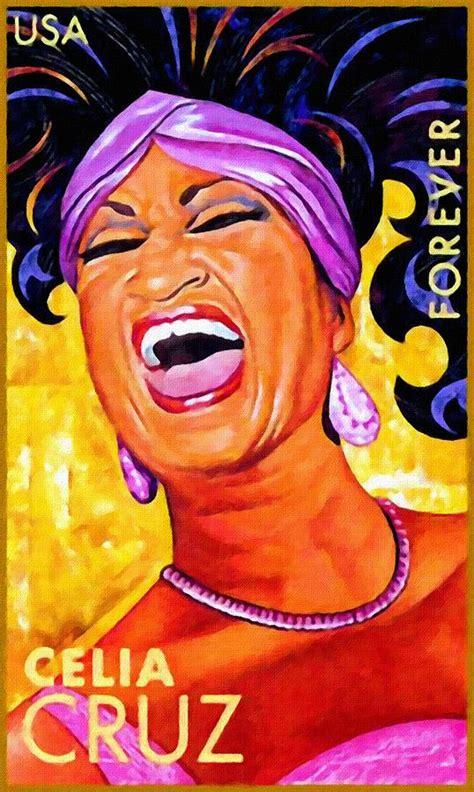 Home Decor Blogs Usa by Celia Cruz Painting By Lanjee Chee
