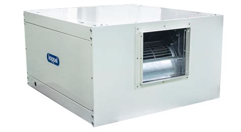 chilled water fan coil horizontal ducted chilled water fcu koppel