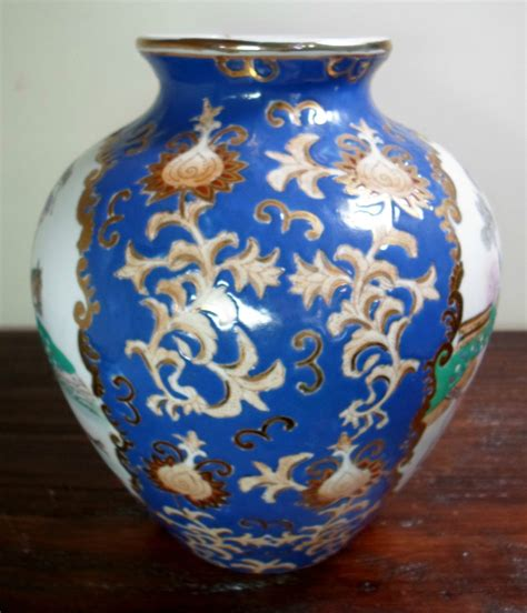 antique wbi made in china gold gilded