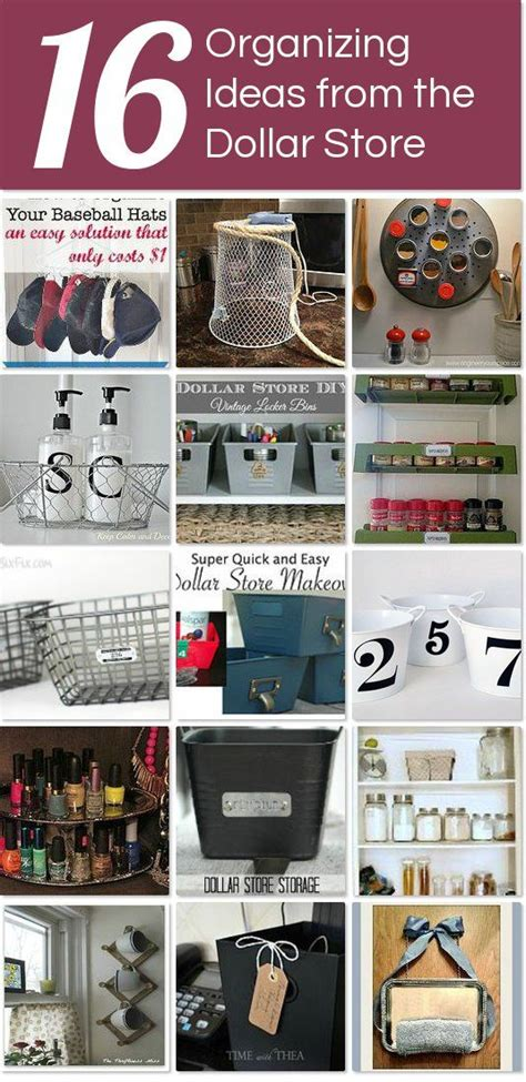 dollar store organization hacks 4476 best organizing images on pinterest