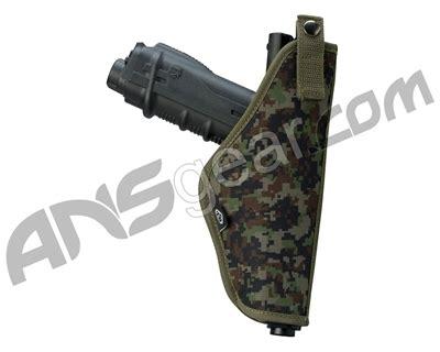 bt tactical paintball gun holster woodland digi camo