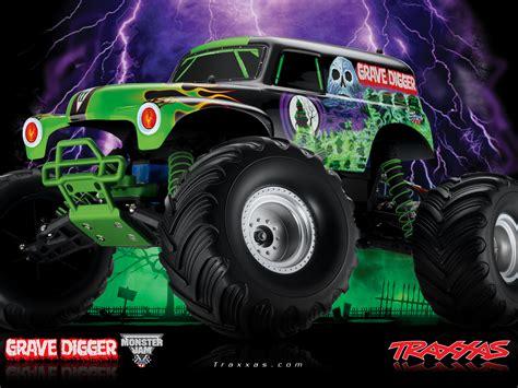 Grave Digger Monster Truck 4x4 Race Racing Monster Truck