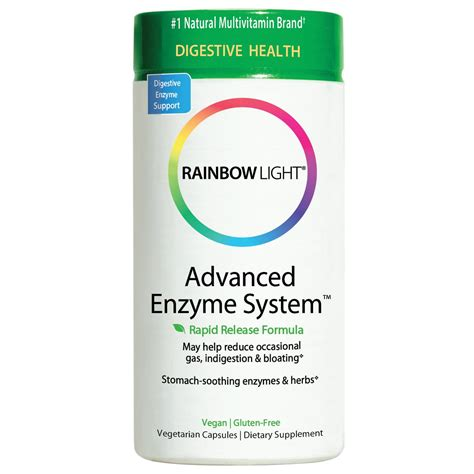 rainbow light advanced enzyme system amazon com rainbow light advanced enzyme system plant