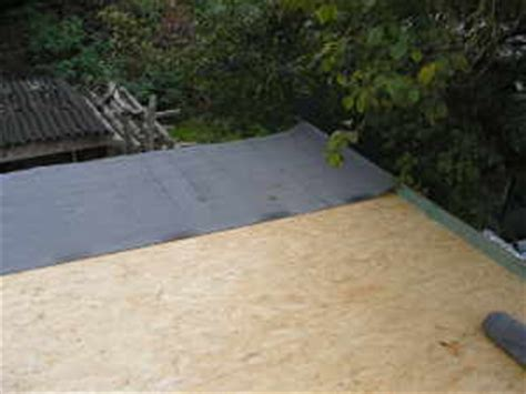 Flachdach Neu Decken by Hochwertige Baustoffe Carport Dach Decken Dachpappe