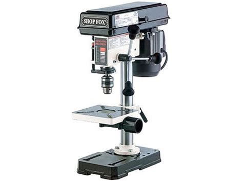 bench drill press shop fox 1 2 hp bench top drill press