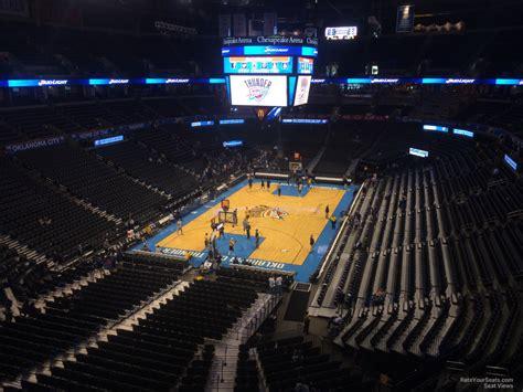 Chesapeake Energy Arena Section 314 Oklahoma City